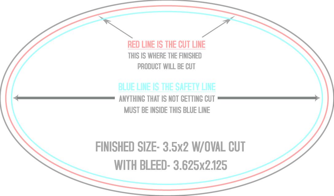 X Round Sticker Template Houston Printing Direct Mail - Round sticker template