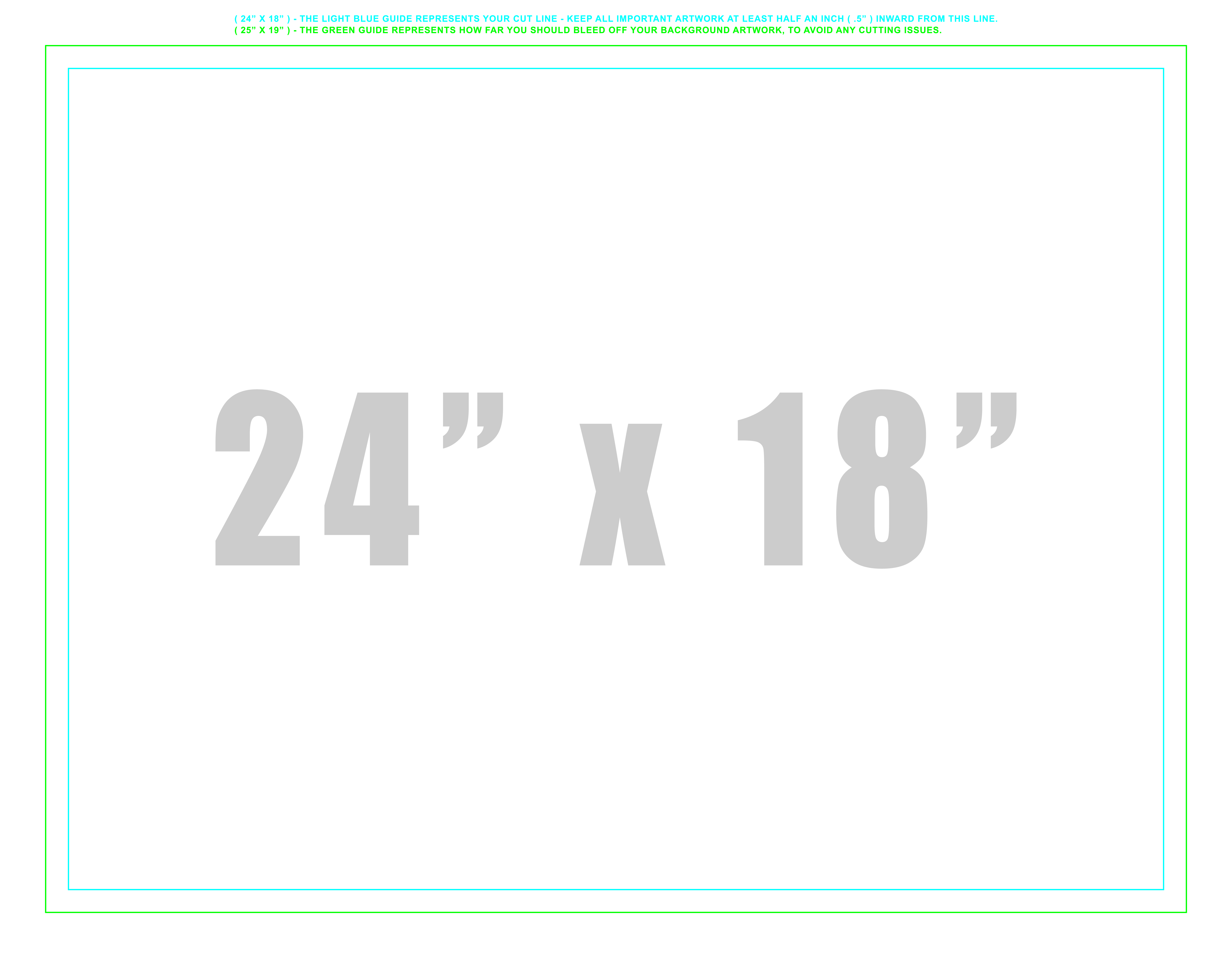 Grand4mat Templates 18 Quot X12 Quot Grand4mat 4mm Coroplast