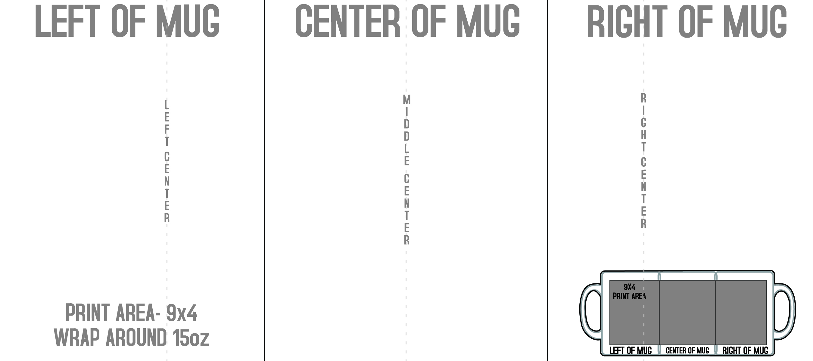 Mugs Templates 8 5 X3 Mugs Template
