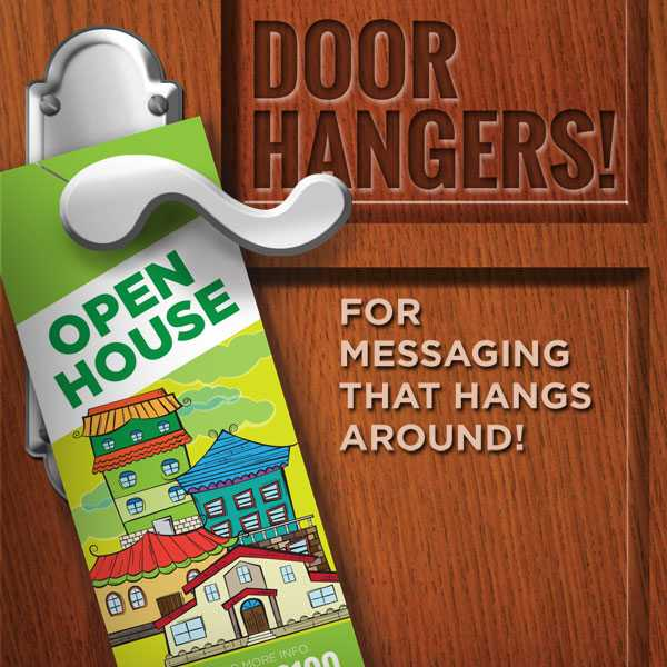 Door Hangers & Door Hanger Printing | Houston Door Hangers Printing