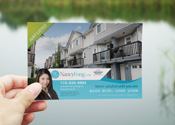EDDM Postcard for Real Estate Agents