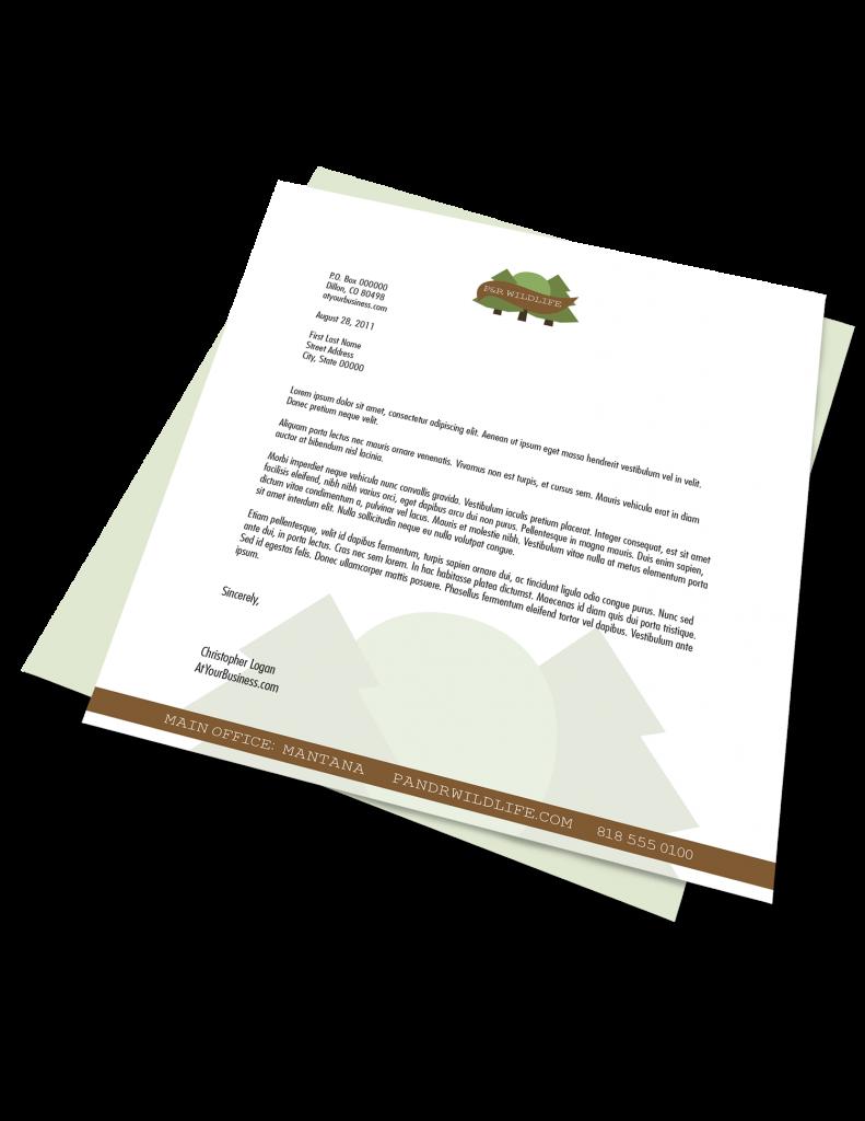 Premium Letterhead Printing