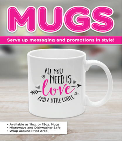 Coffee and Promotional Mugs