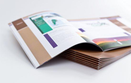color brochure